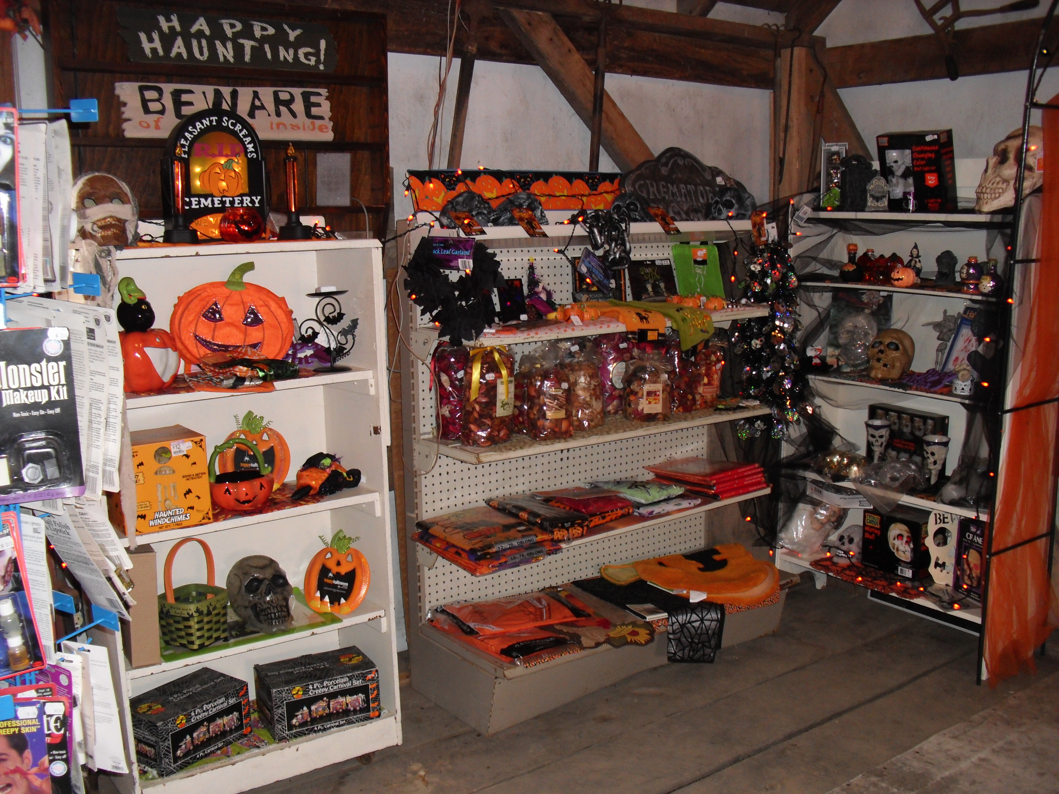 Our Halloween Shop